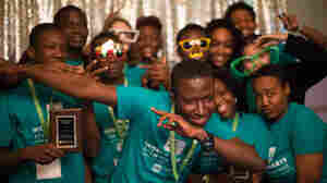 Science-Loving Teens From Ghana And D.C. Geek Out Together