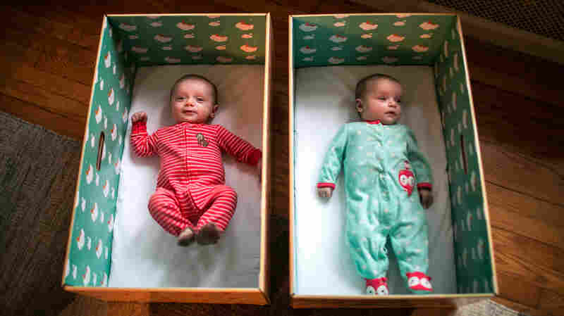 States Give New Parents Baby Boxes To Encourage Safe Sleep Habits