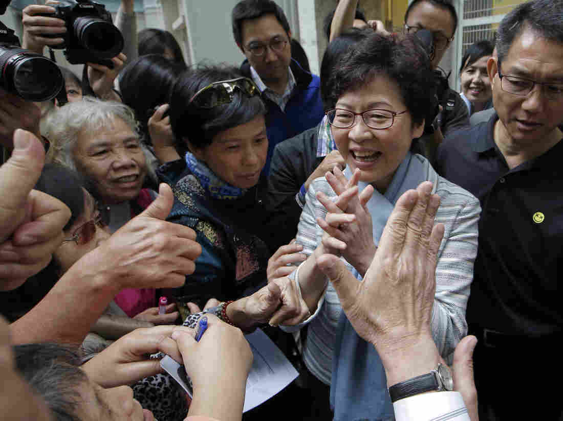Hong Kong set to get new leader as anointed by Beijing