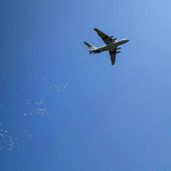 Nobody Wants To Drop Food From A Plane. But It's Happening