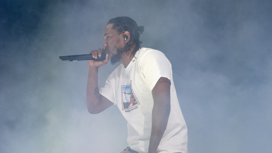 """Kendrick Lamar performs in Brooklyn in December 2016. On Thursday night, Lamar released a new song, """"The Heart Part 4,"""" that seems to preview a new album by Lamar, to be released on April 7."""
