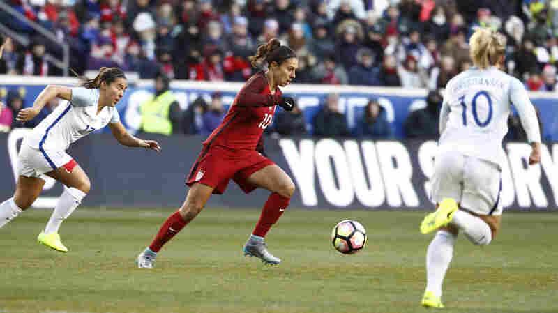 U.S. Women Bumped From Top Spot In FIFA World Rankings