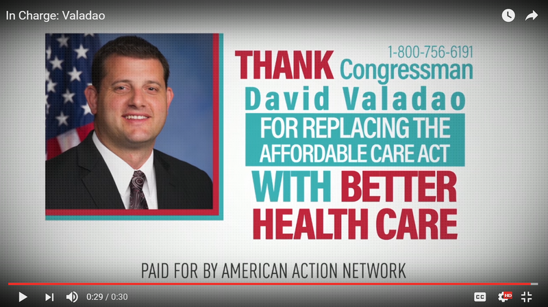 Oops ... PAC Runs TV Ads Thanking Some Republicans For Repealing Obamacare