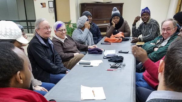 French clubs like this one have become de facto support groups for African immigrants in Lewiston, Maine.