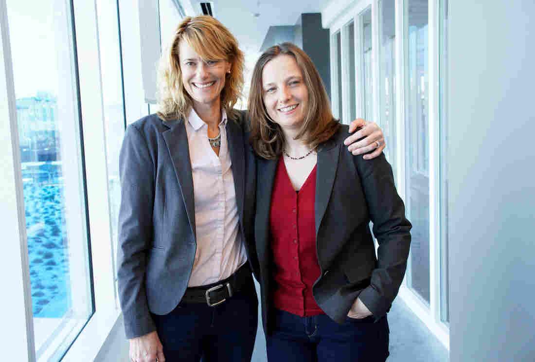 Sarah Oliver and Sarah Gilbert