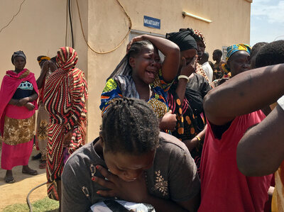 On Their Way To Build A Youth Center, They Were Ambushed And Killed
