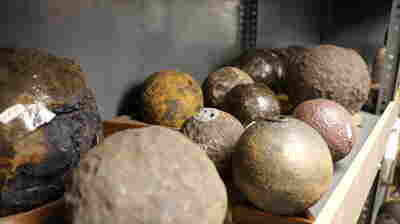 In Charleston, Cannonball Discoveries Are Constant Reminders Of Past Wars