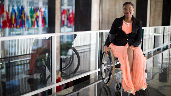 Shot By Her Boyfriend And Now In A Wheelchair, She Found A 'New Me'