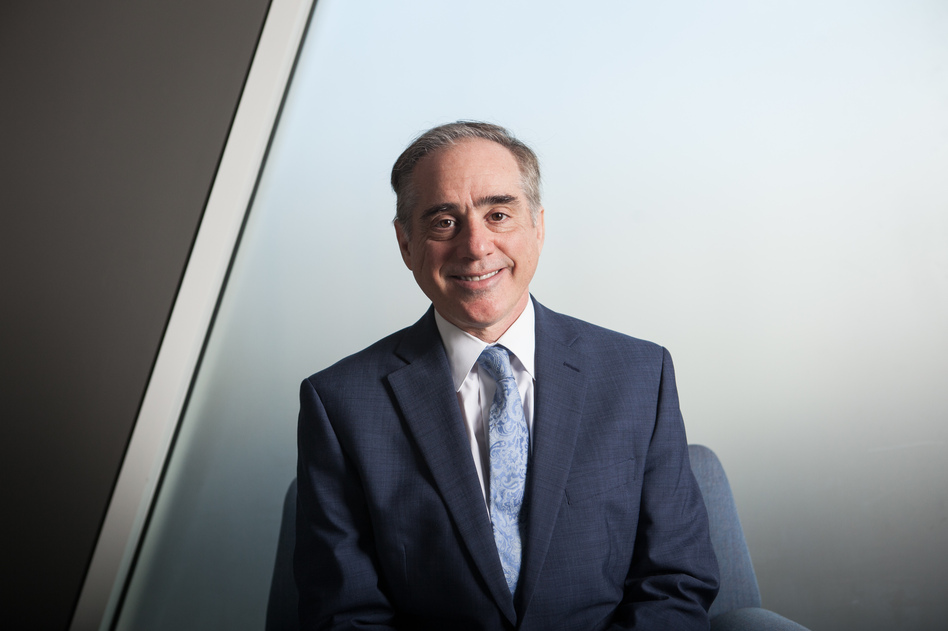 Secretary of Veterans Affairs David Shulkin is working with Congress to renew the Veterans Choice program, which allows some veterans to get medical care outside the VA system, and provides money for medical staff. (Marian Carrasquero /NPR)