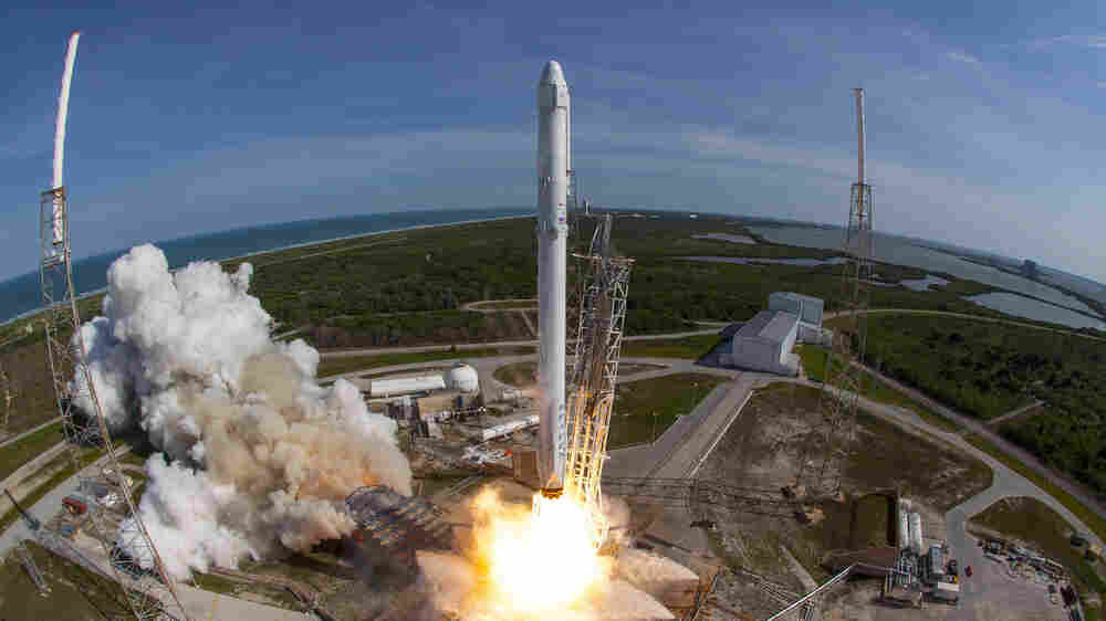 Launch, Land, Launch — SpaceX Tries Reusing Its Rocket