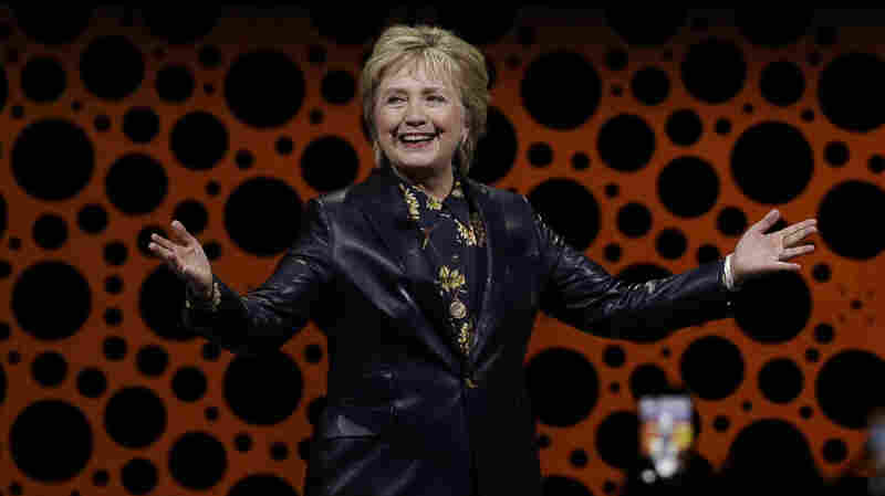 Hillary Clinton Faults Trump On Health Care And Lack Of Female Appointees