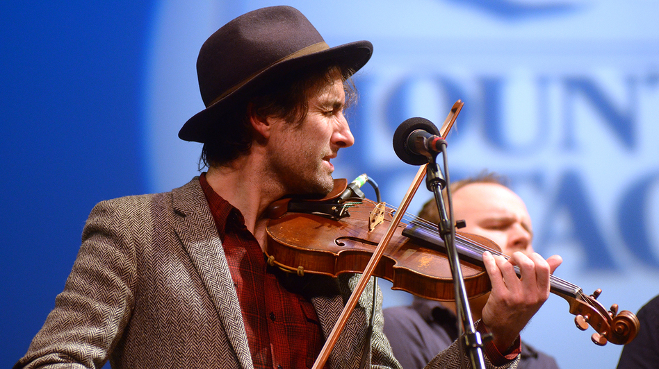 Andrew Bird performs on this week's episode of <em>Mountain Stage</em>.