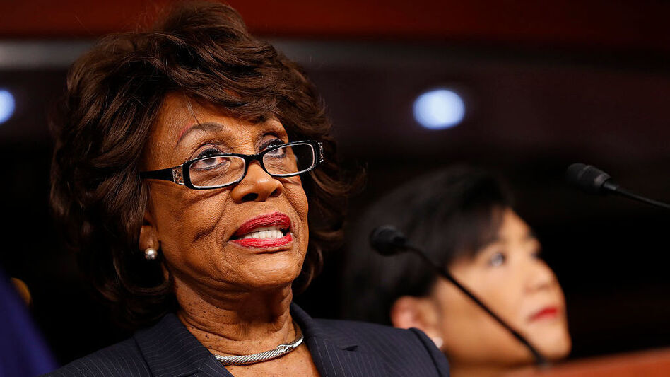 """Rep. Maxine Waters, D-Calif., tweeted that she """"cannot be intimidated"""" after Fox News host Bill O'Reilly made dismissive comments about her on TV on Tuesday. (Aaron P. Bernstein/Getty Images)"""
