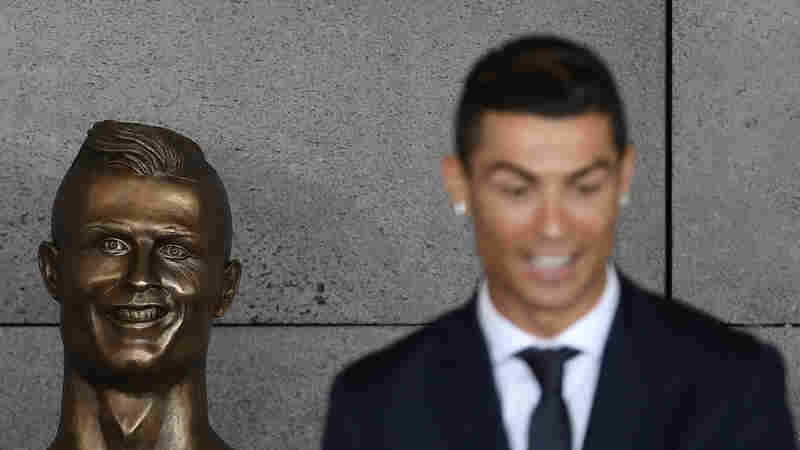 Cristiano Ronaldo's New Bronze Bust Is Turning Heads