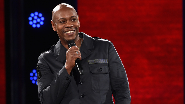 Dave Chappelle performs onstage at the Hollywood Palladium in Los Angeles.
