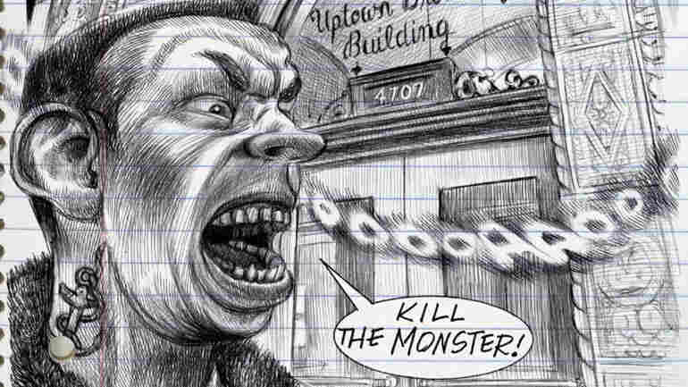 In 'Monsters,' Graphic Novelist Emil Ferris Embraces The Darkness Within