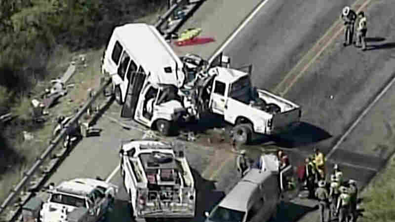 13 Church Members Killed In Collision Between Bus, Pickup Truck In Texas