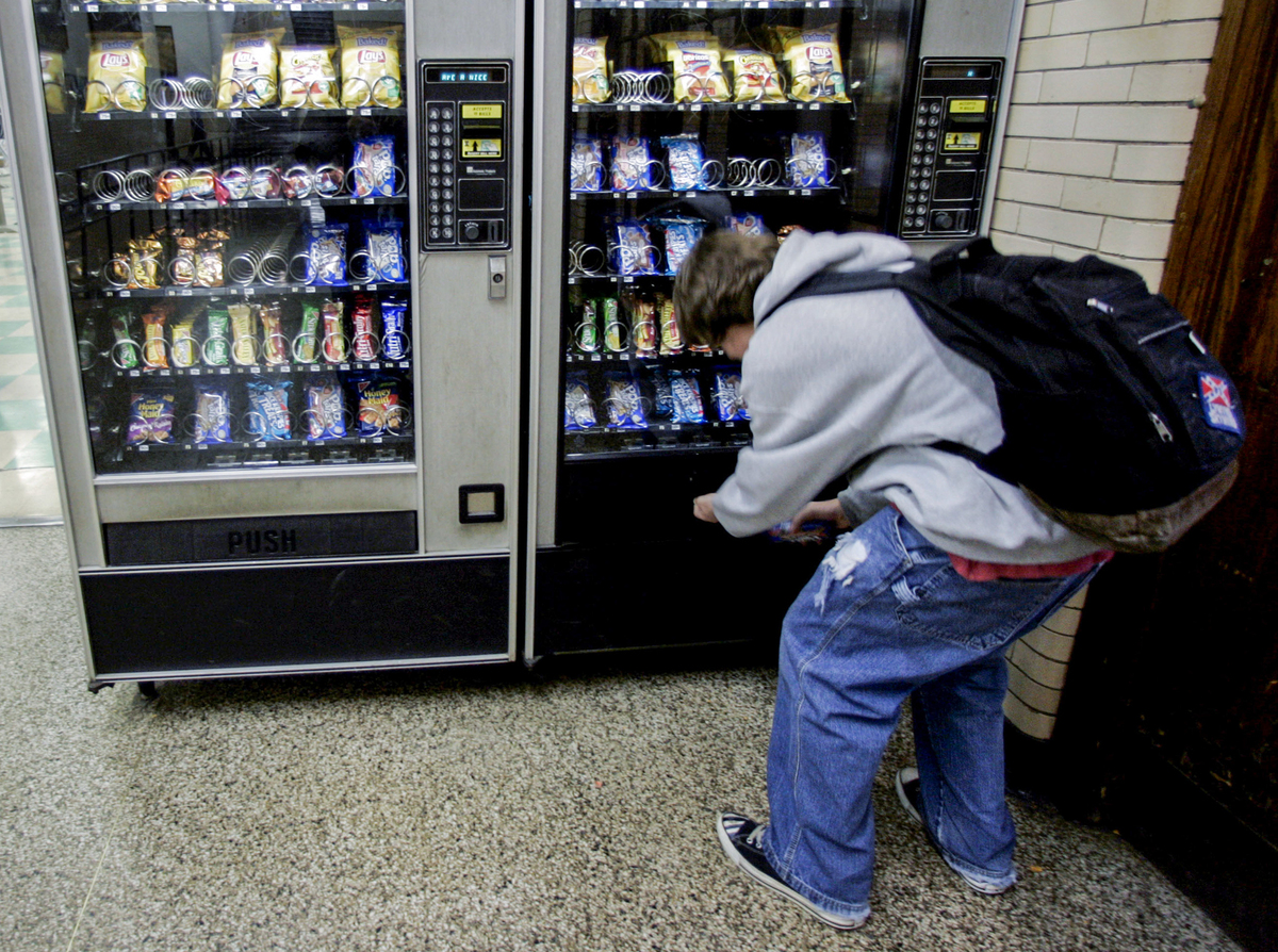 Forcing People At Vending Machines To Wait Nudges Them To ...