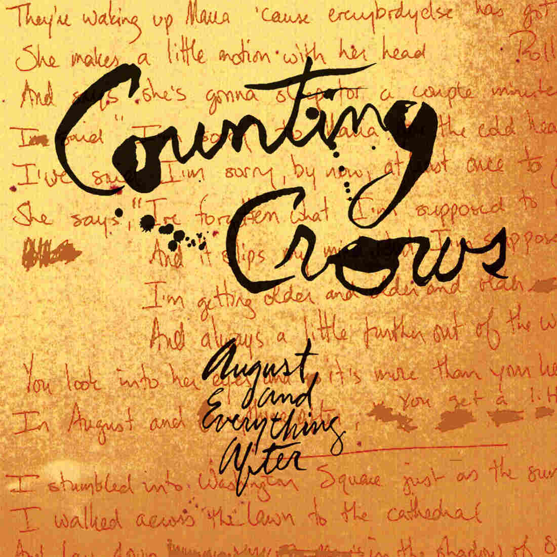 Counting Crows, August and Everything After