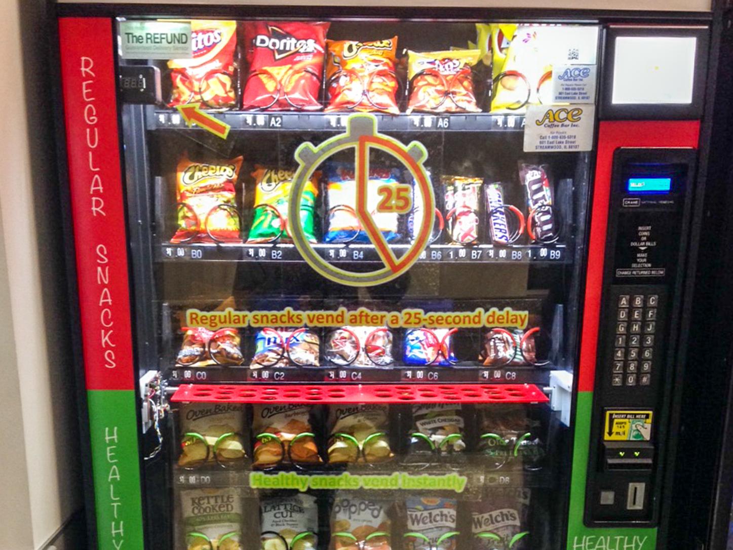'Smart' Vending Machine Promotes Healthier Choices