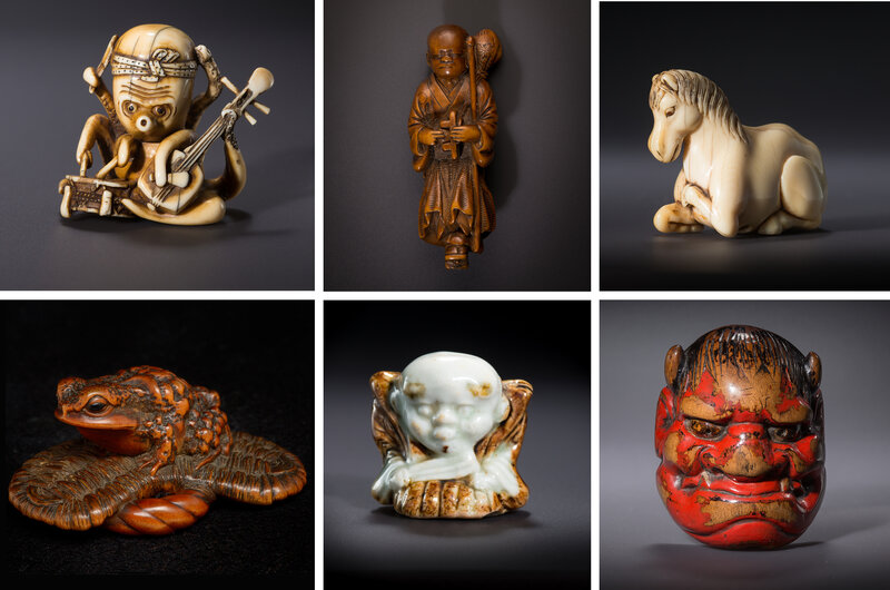 In The Art Of Netsuke Tiny Toggles Tell Delightful Stories Of Japan Npr