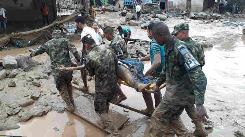 Avalanche Of Mud And Water Kills At Least 193 In Colombian City