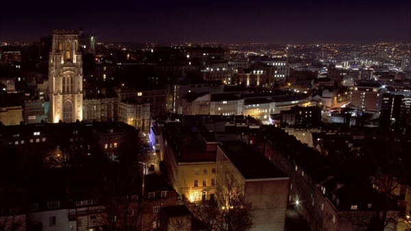 "The Gotham of the ""grammar vigilante"": Bristol, U.K."