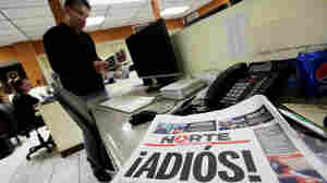 Mexican Newspaper Shuts Down In 'Act Of Protest' After Journalist's Murder