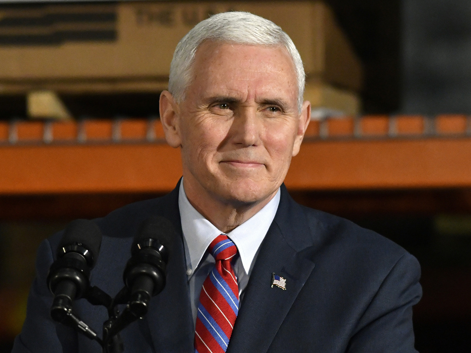 Vice President Pence is leading talks with House Republicans for the Trump administration to try to revive the failed health care bill. (Timothy D. Easley/AP)