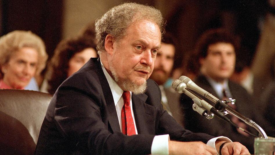 Remember Judge Robert Bork's failed 1987 Supreme Court nomination? Some Republicans still do. (Charles Tasnadi/AP)