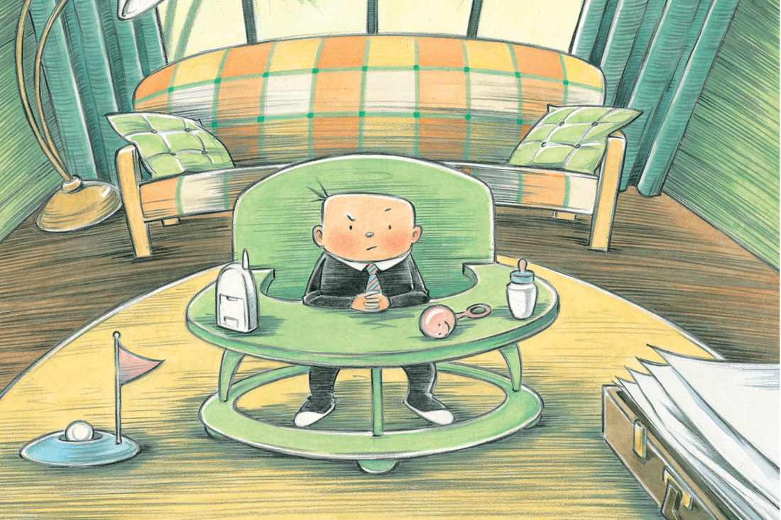 The Picture Book Behind The New Movie 'Boss Baby' : NPR Ed ...