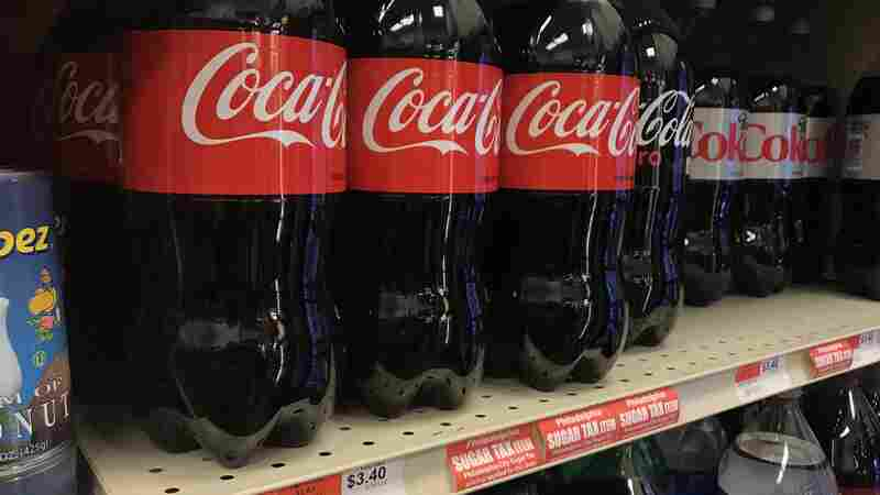 Judges Take Up Big Soda's Suit To Abolish Philadelphia's Sugar Tax