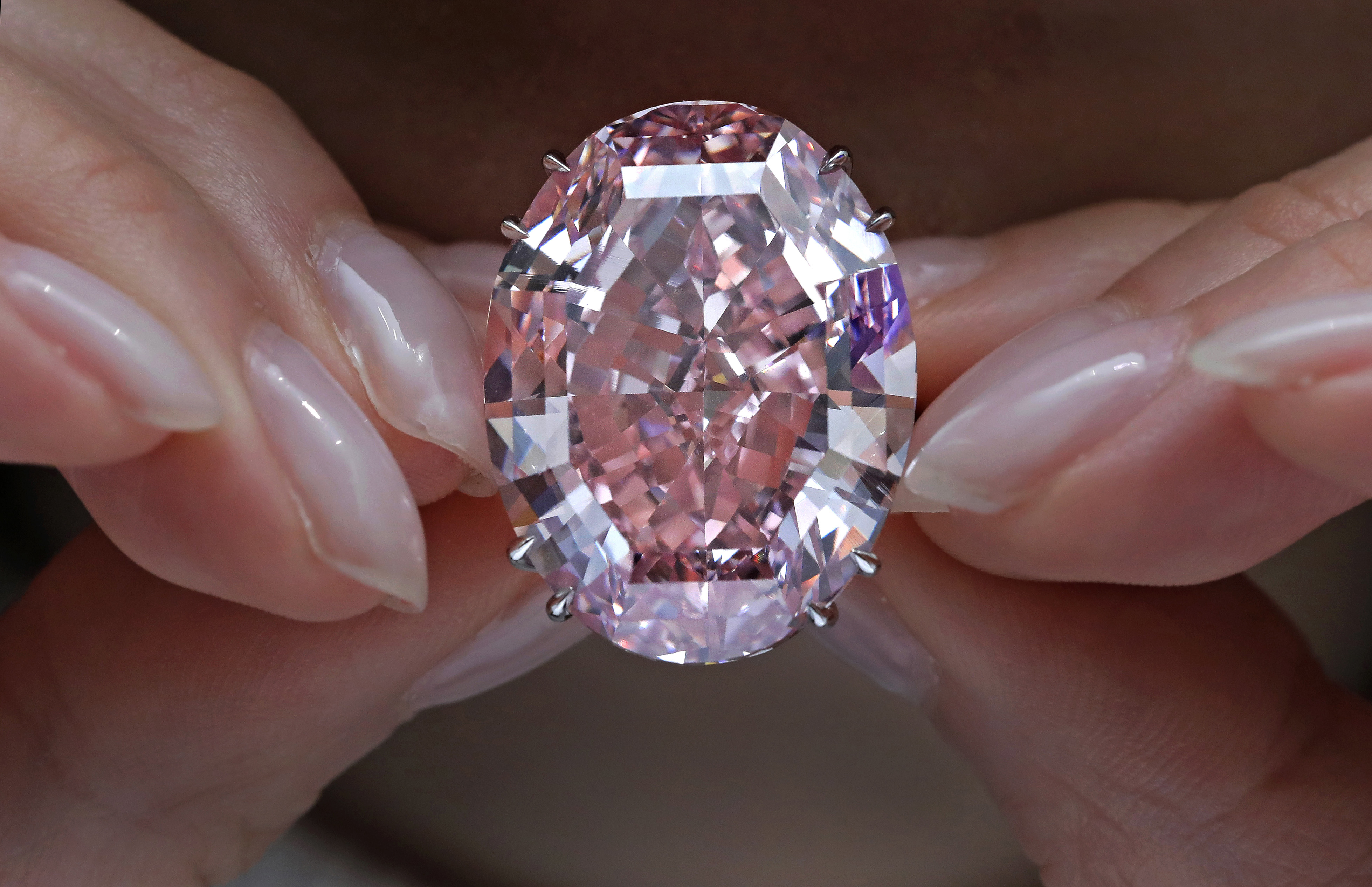 Pink Star' Diamond Sells For $71 Million, Smashing Auction Record : The Two-Way : NPR