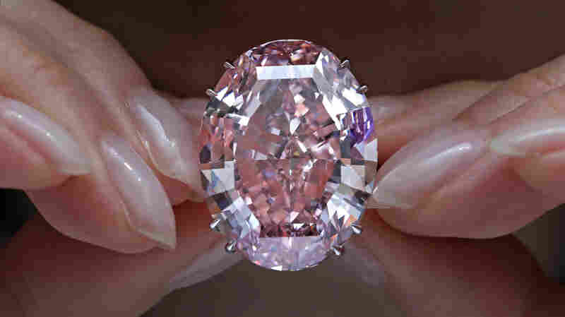 'Pink Star' Diamond Sells For $71 Million, Smashing Auction Record