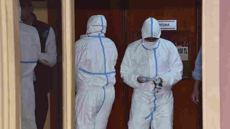 Turkey Says Autopsies Of Syrian Victims Show Evidence Of Sarin Exposure
