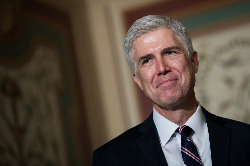 The Senate confirmed Judge Neil Gorsuch to the Supreme Court on Friday. (Drew Angerer/Getty Images)