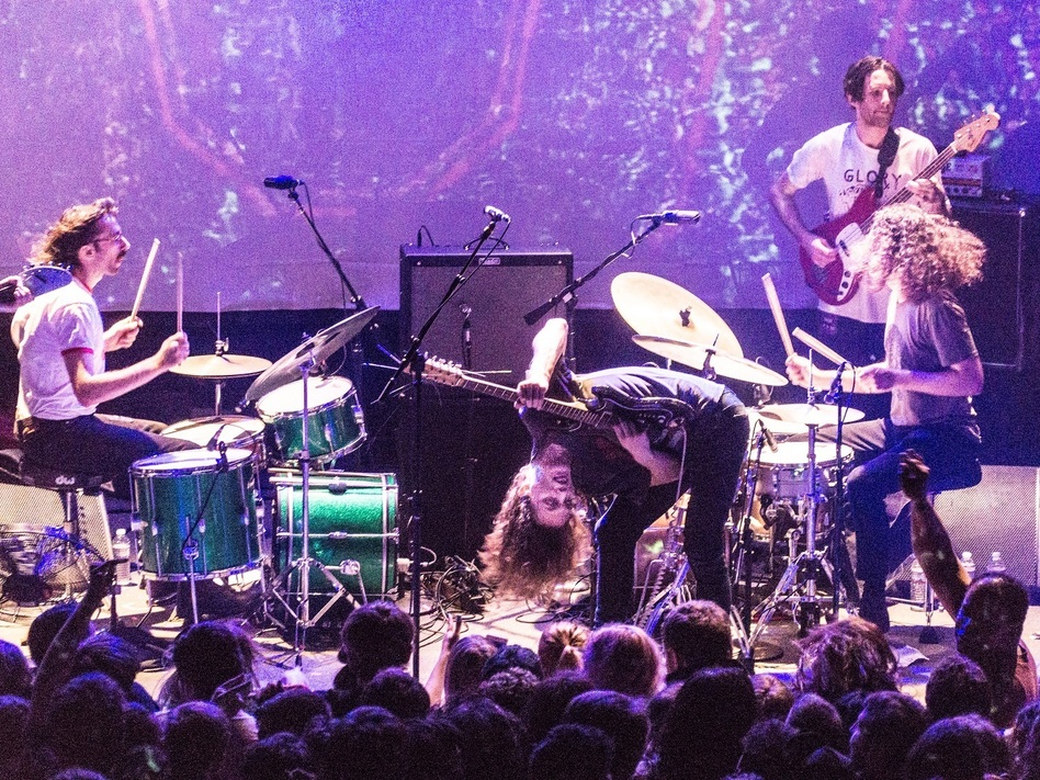 90 minutes of frenetic guitar playing from, quite literally, way down under. (KING GIZZARD & THE LIZARD WIZARD, 9:30 CLUB, WASHINGTON, D.C.)