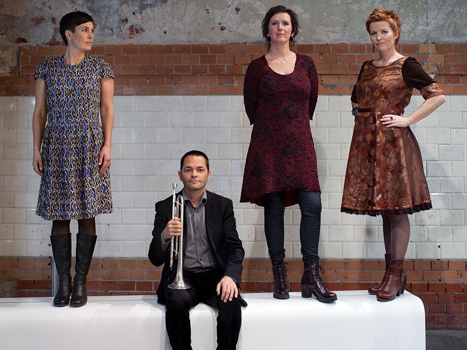 On the new album <em>Rímur, </em>Trio Mediaeval teams up with trumpeter Arve Henriksen.