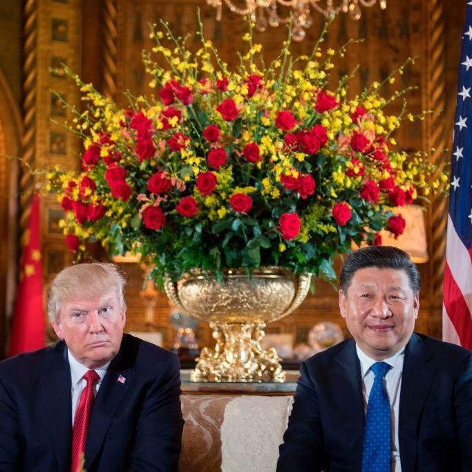At Trump And Xi's Meetings, Uncomfortable Talks Are The Order Of The Day