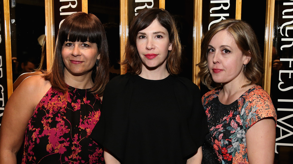 Sleater-Kinney (from left, Janet Weiss, Carrie Brownstein and Corin Tucker) will release new music as part of a series to benefit Planned Parenthood.