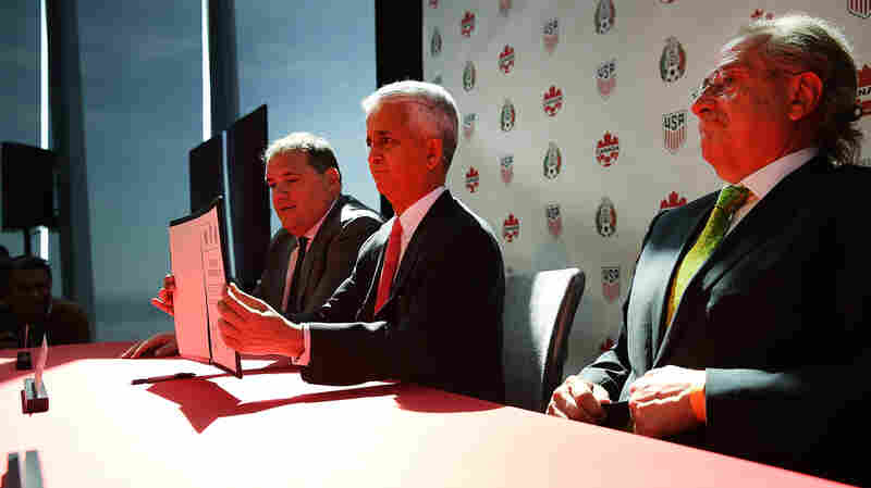 U.S., Canada And Mexico Declare Combined Bid To Host The World Cup