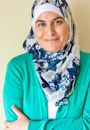 """Image: Sawsan Abu Farha, a Palestinian-Jordanian food blogger known as """"Chef in Disguise,"""" makes several versions of maamoul, usually to be served during Eid with Arabic coffee and chocolate. Courtesy of Sawsan Abu Farha"""