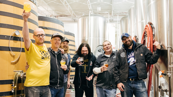 Maximum Hops Yield Maximum Results: Making Beer With Sunn O)))