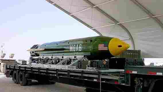 U.S. Drops Biggest Non-Nuclear Bomb Ever Used In Combat