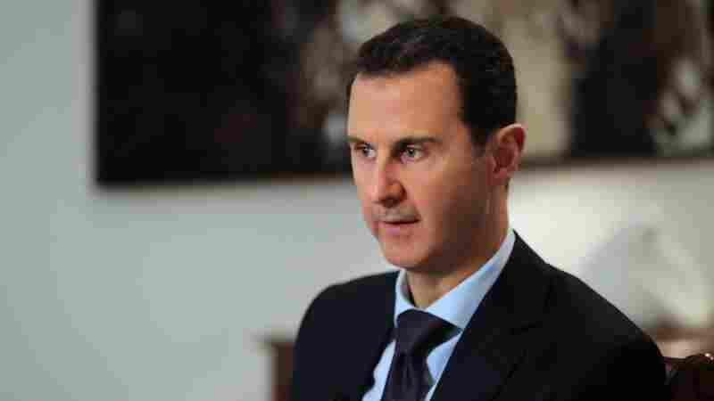 Bashar Assad Tells AFP That Chemical Attack Was Western 'Fabrication'