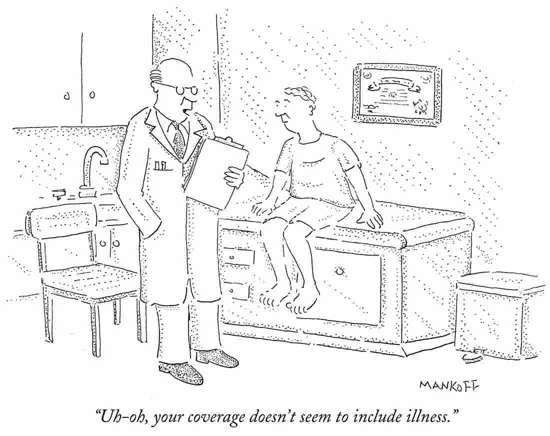 Uh-oh, your coverage doesn't seem to include illness.
