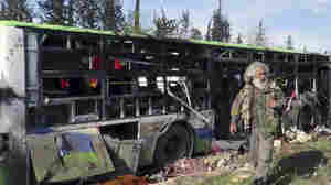 At Least 112 Killed In Car Bombing In Rebel-Held Territory In Syria