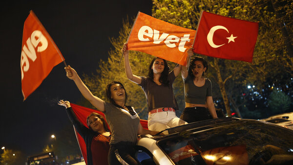 Historic referendum gives turkey president more power