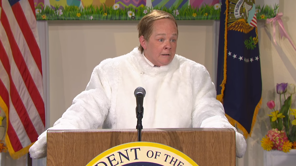 On 'Saturday Night Live,' Melissa McCarthy's 'Spicey' Has An Easter Message
