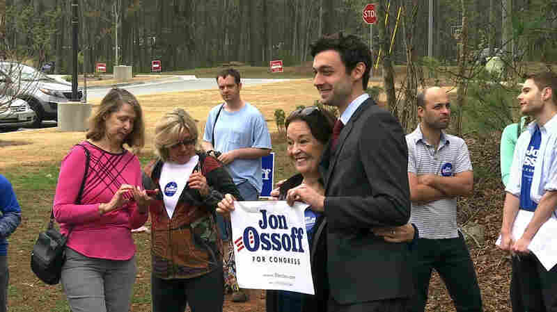 Results In Georgia Election Trickle In As GOP Looks To Avoid Political Headache
